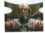 David Warner, Star Trek, Genuine Signed Autograph 10x8, 1135